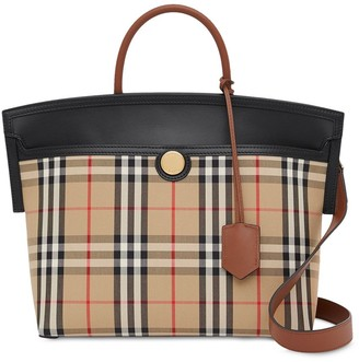 Burberry small Society Vintage Check top handle