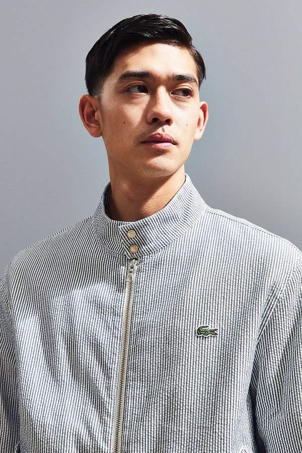 Lacoste Stripe Harrington Jacket