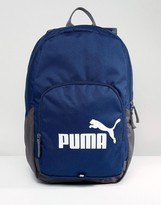 Puma Phase Backpack In Navy 7358902