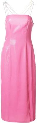 Olivia Rubin slim-fit midi dress