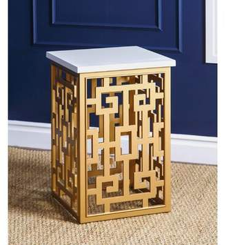House of Hampton Grieco Block End Table House of Hampton