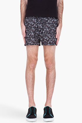 Marc by Marc Jacobs grey Kyle Camo Swim shorts