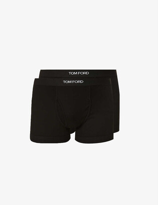 Tom Ford Pack of two slim-fit stretch-cotton boxers