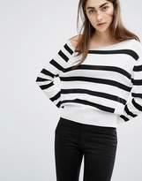 Cheap Monday Stripe Fine Knit Sweater