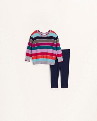 Splendid Baby Girl Multi Stripe Sweater Set