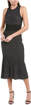 Jason Wu Ribbed Wool-Blend Sweaterdress