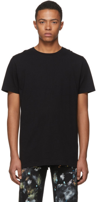 Off-White Off White SSENSE Exclusive Black 3D Diag T-Shirt