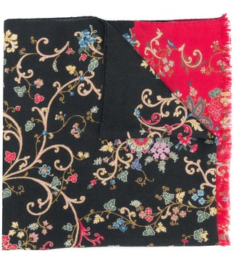 Etro All-Over Floral Print Scarf