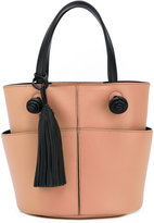Tod's mini bucket shoulder bag - women - Calf Leather - One Size