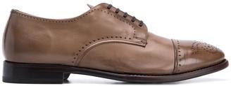 Silvano Sassetti almond toe Derby shoes