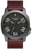 Nixon Ranger 45 Leather Watch - Men's