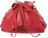 Carlos Falchi Gathered Shoulder Bag