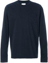 Sacai classic long sleeved T-shirt - men - Cotton - II