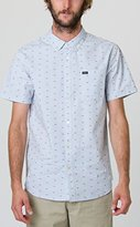 RVCA Men's That'll Do Squares Short Sleeve Shirt