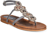Kenneth Cole Reaction Women's Chase Me Embellished Flat Sandals