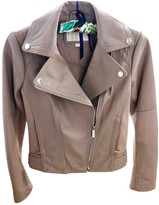 Michael Kors Pink Leather Leather Jacket for Women