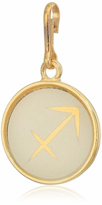 Alex and Ani Women's Etching Charm Sagittarius Small 14kt Gold Plated