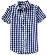Class Club Big Boys 8-20 Gingham Short-Sleeve Button-Down Shirt