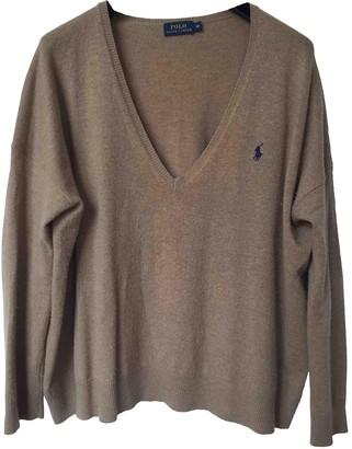 Polo Ralph Lauren Beige Cashmere Knitwear for Women