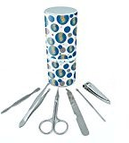 Manicure Pedicure Grooming Beauty Personal Care Travel Kit (Tweezers,Nail File,Nail Clipper,Scissors) - Places and Things New York City Tourist Map NYC
