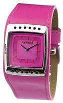 Animal CAN AM S Women's Quartz Watch with Pink Dial Analogue Display and Pink Leather Strap WW2WA504-C62-O/S