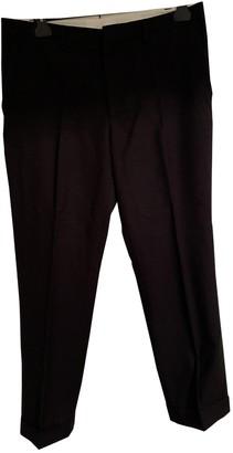 Margaret Howell Navy Wool Trousers