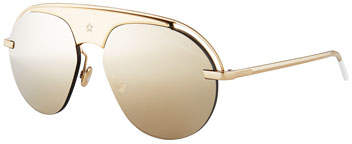 Christian Dior Dio(R)evolution Mirrored Aviator Sunglasses