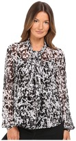 McQ by Alexander McQueen Knotted Neck Blouse Women's Blouse