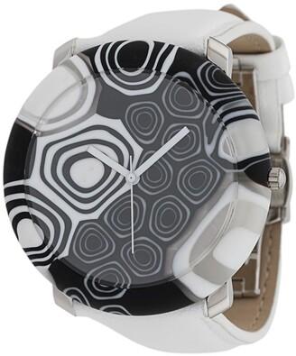 Yunik Big Round Black & White 44mm