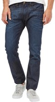Diesel Mens Thavar 0842N Skinny Fit Jeans Blue