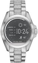 Michael Kors Unisex Access Bradshaw Digital Stainless Steel Bracelet Smart Watch 44mm MKT5000