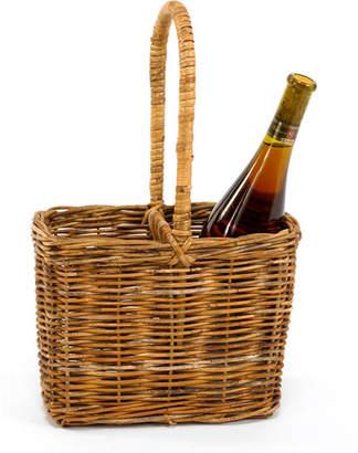 Mainly Baskets Cottage Two Bottle Carrier Basket