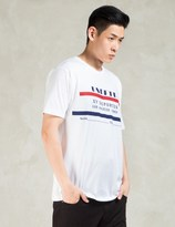 Undefeated White Deportes T-Shirt