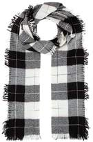 Isabel Marant Loria wool and silk plaid scarf