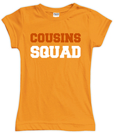Urban Smalls Orange 'Cousins Squad' Fitted Tee - Toddler & Girls