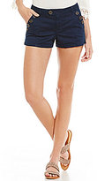 Jolt Sailor Button-Detail Shorts
