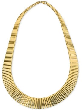 "Giani Bernini Graduated 17"" Statement Necklace in 18k Gold-Plated Sterling Silver, Created for Macy's"