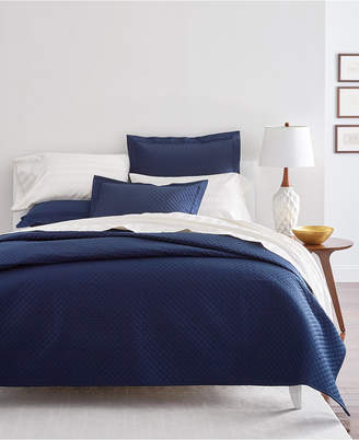 Charter Club Damask Cotton 3-Pc Quilted Full/Queen Coverlet, Bedding