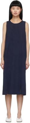 Blue Blue Japan Indigo Rib Knit Dress