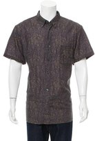 Billy Reid Floral Print Button-Up Shirt