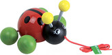 Vilac Ladybird wooden pull-along toy