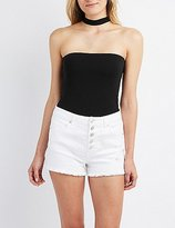 Charlotte Russe Choker Neck Tube Top