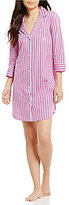 Lauren Ralph Lauren Classic Striped Jersey Sleepshirt