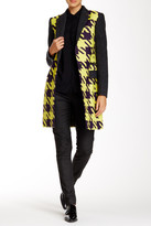 L.A.M.B. Large Houndstooth Top Coat