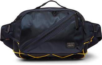 Porter Yoshida & Co Things Nylon-Twill And Cubic Eye-Pique Belt Bag