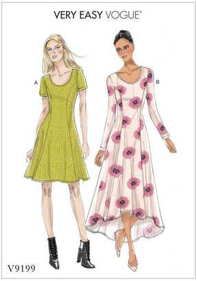 Vogue Women's Dress Sewing Pattern, 9199