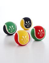 HUDSON'S BAY COMPANY Set Of 4 Rubber Tennis Pet Play Balls
