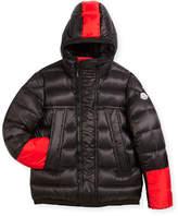 Moncler Boys' Drake Colorblock Down Jacket, Size 8-14