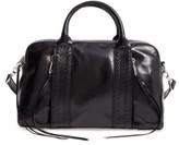 Rebecca Minkoff Vanity Leather Saddle Bag - Black