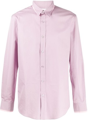 Alexander McQueen Double-Collar Long-Sleeved Shirt